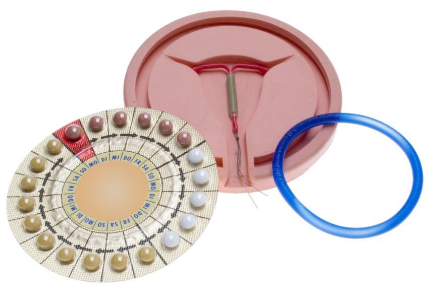 IUD and oral contraception pills