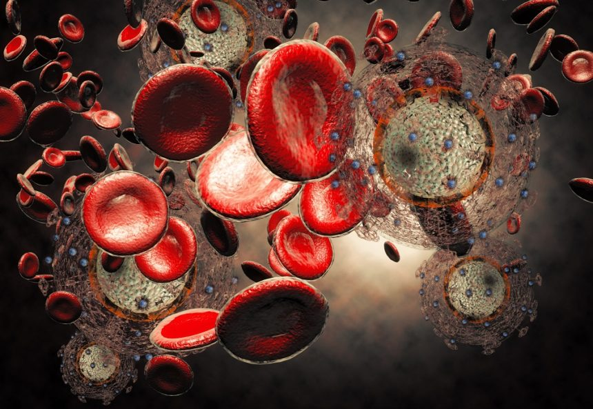 HIV Virus in blood