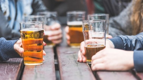 "According to the CDC, alcohol is the most commonly used or abused drug in US adolescents and young adults.33 Multiple studies34-36 assess the benefits, harms, and efficacy of various interventional strategies used to reduce the frequency of and risks associated with underage drinking. One study34 found that when comparing direct strategies (eg, ""space drinks out over time"") with indirect strategies (eg, ""have a designated driver""), direct strategies resulted in less alcohol consumption while indirect strategies resulted in fewer alcohol-related consequences. Additionally, a meta-analysis of 185 studies36 found that while brief alcohol interventions result in modest but beneficial alcohol-related outcomes, such interventions can be beneficial based on their ""brevity and low cost."""