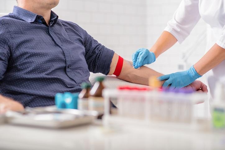 blood draw vial blood test